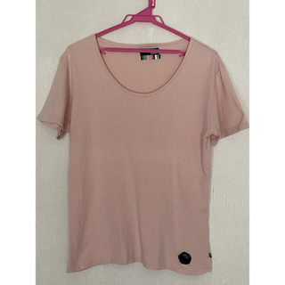 グラム(glamb)のglamb グラム メンズ 半袖Tシャツ ラバー製ロゴ サイズ2 M(Tシャツ/カットソー(半袖/袖なし))