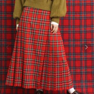 CHILD WOMAN - CHILD WOMAN チェックキルトスカート