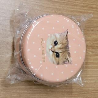 ユニクロ(UNIQLO)の新品 ユニクロ PAUL & JOE 猫 缶 ノベルティ(ポーチ)