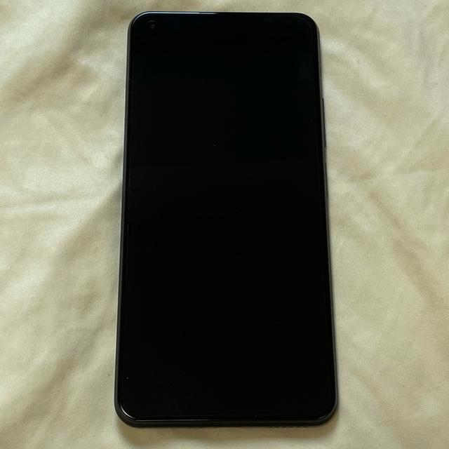 ANDROID(アンドロイド)のXiaomi Mi 11 Lite 5G ブラック SIMフリー スマホ/家電/カメラのスマートフォン/携帯電話(スマートフォン本体)の商品写真
