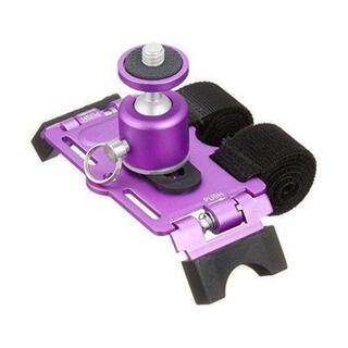 《新品未使用》カメラ用 アクションマウント(自転車やバイクのハンドルに取付)