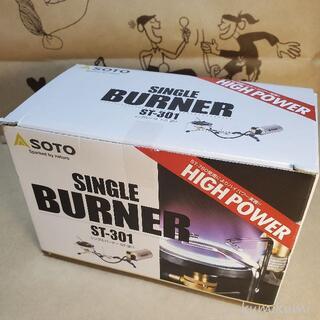 シンフジパートナー(新富士バーナー)の新品未使用 ソト SOTO シングルバーナー ST-301(ストーブ/コンロ)