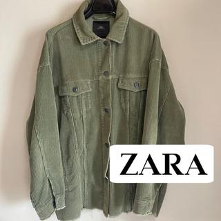 ZARA - 《ZARA》ザラ コーデュロイジャケット