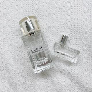 グッチ(Gucci)の【セット売り】香水 GUCCI & PRADA 空瓶 / サンプル(香水(女性用))