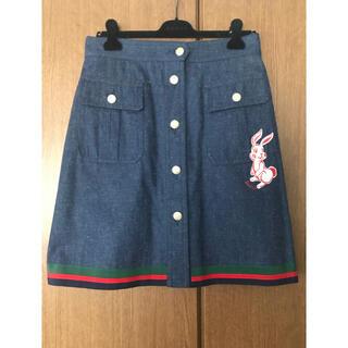 グッチ(Gucci)のGUCCI スカート 大きいサイズ イタリア購入❗️(ひざ丈スカート)