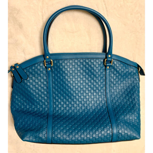 Gucci(グッチ)の極美品!gucci グッチ レザートート トートバッグ レディースバッグ レディースのバッグ(トートバッグ)の商品写真