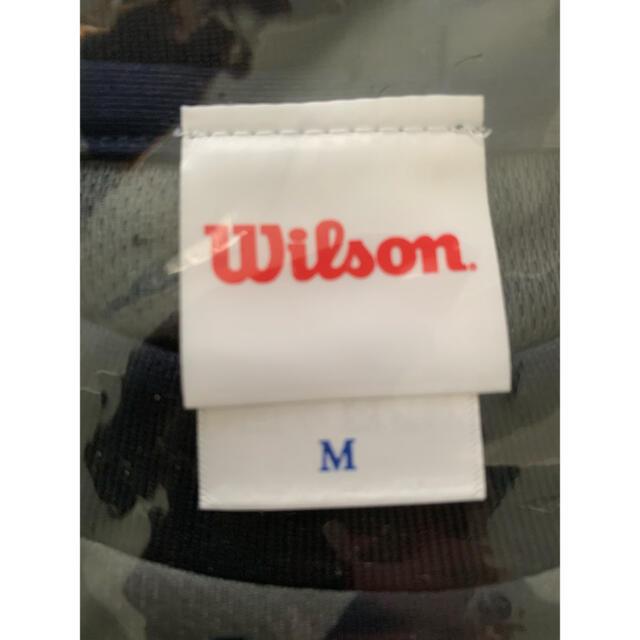 wilson(ウィルソン)の新品 未使用 ウィルソン(Wilson)迷彩柄 ネイビー カモフラ Tシャツ メンズのトップス(Tシャツ/カットソー(半袖/袖なし))の商品写真