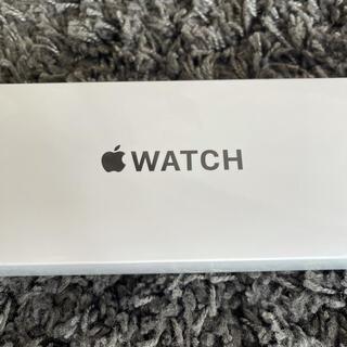 アップル(Apple)のApple Watch SE(GPSモデル) 44mmスペースグレイ(腕時計(デジタル))