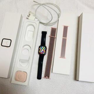 Apple Watch - 最終値下げ!アップルウォッチ4 44mm アルミニウムGPS モデル  ゴールド