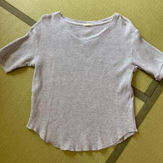 GU - GU ジーユー ワッフルTシャツ