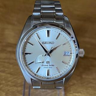 グランドセイコー(Grand Seiko)の美品 グランドセイコー マスターショップ限定 スプリングドライブ SBGA001(腕時計(アナログ))