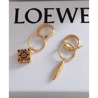 LOEWE - ♬美品♬LOEWE ロエベ  ピアス 刻印 レディース