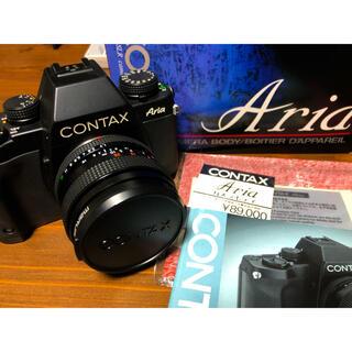 京セラ - CONTAX Aria+プラナー50mm f1.7 MMJ