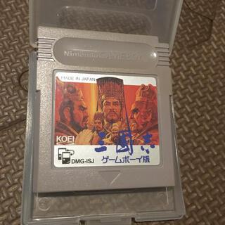 ゲームボーイ(ゲームボーイ)のSG25 ゲームボーイソフト 三国志 ゲームボーイ版(携帯用ゲームソフト)