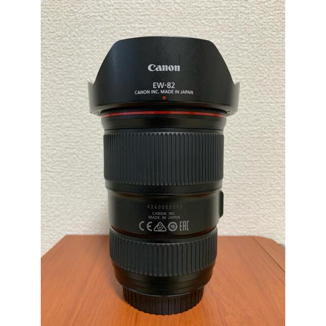 Canon(キヤノン)のCanon 16-35mm f4 is L スマホ/家電/カメラのカメラ(レンズ(ズーム))の商品写真