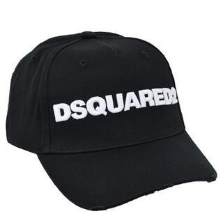 ディースクエアード(DSQUARED2)のDSQUARED2 立体刺繍ブランドネーム ロゴ ベースボール キャップ(キャップ)