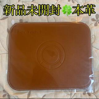 Panasonic - 新品未使用未開封Panasonicレッツノート本革マウスパッド非売品茶色