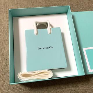 Tiffany & Co. - 【未使用品】ティファニー ショッピングバック オーナメント 陶器 ティファニー