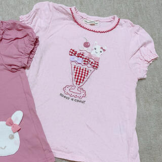 クーラクール(coeur a coeur)のクーラクール 100サイズ パフェ(Tシャツ/カットソー)