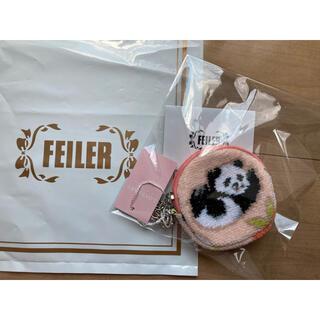 FEILER - 新品✨ラブラリーbyフェイラー❣️コロコロパンダサークルキーポーチ