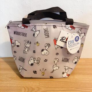 SNOOPY - スヌーピー保冷ランチトートバッグ 保冷バッグ ランチ弁当袋 手提げ ミニバッグ