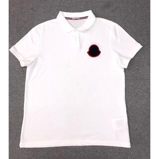 モンクレール(MONCLER)の新品同様品 モンクレール ポロシャツ  サイズL(ポロシャツ)