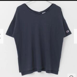 アーバンリサーチ(URBAN RESEARCH)のチャンピオン アーバンリサーチ Tシャツ ネイビー レディース 夏服 トップス(Tシャツ(半袖/袖なし))