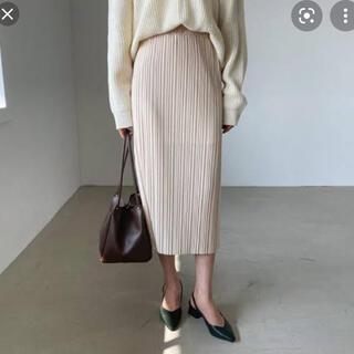 dholic - プリーツHラインスカート