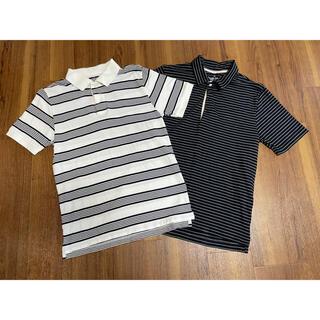 ムジルシリョウヒン(MUJI (無印良品))の無印良品メンズ半袖シャツ2着(ポロシャツ)