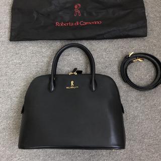 ROBERTA DI CAMERINO - ロベルタディカメリーノ本革2wayハンドバッグ・ショルダーバッグ