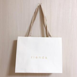 rienda - rienda リエンダ 紙袋 ショッパー