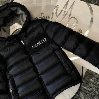 MONCLER - モンクレール 正規品 AITON サイズ14A ブラック DISTタグ 美品