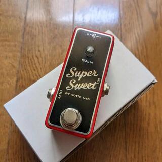 Xotic Super Sweet Booster【極美品】ブースタエフェクター(エフェクター)