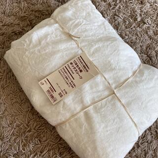 ムジルシリョウヒン(MUJI (無印良品))の無印良品 ボックスシーツ SS(シーツ/カバー)