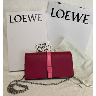LOEWE - 値下げしました!【新品未使用】LOEWE ロエベ チェーンウォレット