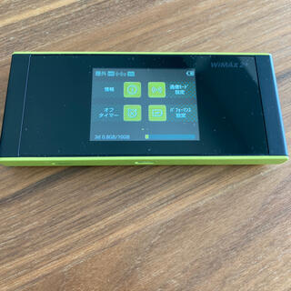 ファーウェイ(HUAWEI)の WiMAX speed Wi-Fi NEXT W05(その他)