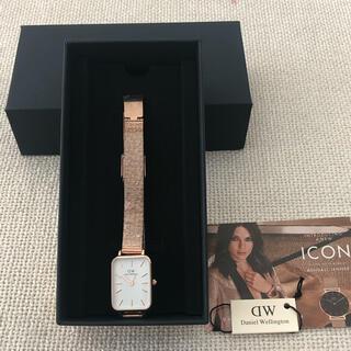 ダニエルウェリントン(Daniel Wellington)のダニエル ウェリントン腕時計 新作 QUADRO PRESSED MELROSE(腕時計)
