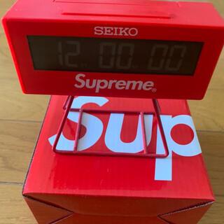 シュプリーム(Supreme)のSupreme Seiko Marathon Clock  時計(置時計)