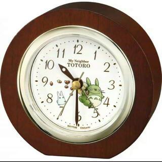 ジブリ - 新品未使用 となりのトトロ 置時計
