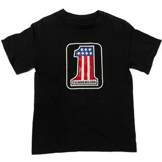 TENDERLOIN - TENDERLOIN テンダーロイン Tシャツ 半袖 S キムタク ブラック 黒