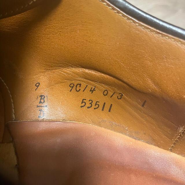 Alden(オールデン)のオールデン コードバン ブラック 9C メンズの靴/シューズ(ドレス/ビジネス)の商品写真