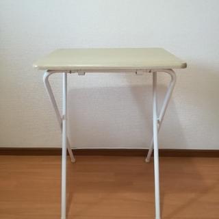 ヤマゼン(山善)の山善(YAMAZEN ) 折りたたみテーブル ナチュラル(折たたみテーブル)