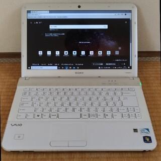 バイオ(VAIO)の323 VAIO Eシリーズ VPCEA45FJ PCG-61311N (ノートPC)