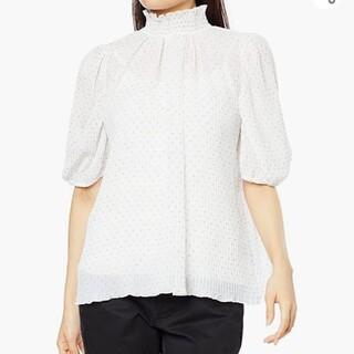 ダブルスタンダードクロージング(DOUBLE STANDARD CLOTHING)のダブルスタンダードクロージング♥️新品今季春夏ブラウス(シャツ/ブラウス(半袖/袖なし))
