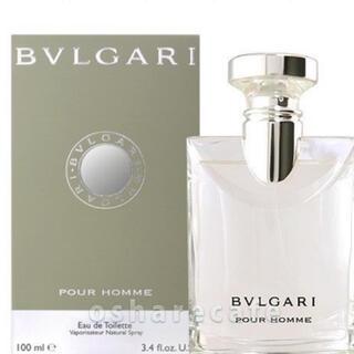 ブルガリ(BVLGARI)のブルガリプールオム オードトワレ 100ml(香水(男性用))