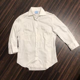 スーツカンパニー(THE SUIT COMPANY)のスーツカンパニー 白シャツ(シャツ/ブラウス(長袖/七分))