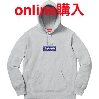 Supreme - supreme バンダナBOX logoフーディーXL 国内正規品
