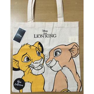 ディズニー(Disney)の日本未発売 ライオンキング シンバナラ キャンバストートバッグ(トートバッグ)