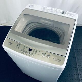 ★送料・設置無料★ 中古 大型洗濯機 アクア (No.0119)