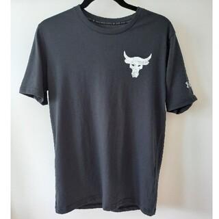 UNDER ARMOUR - 2021年新作モデル アンダーアーマー プロジェクトロック Tシャツ(サイズS)